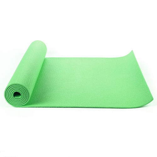 Green Yoga Mat Thick 183cm X 61cm Free Bag