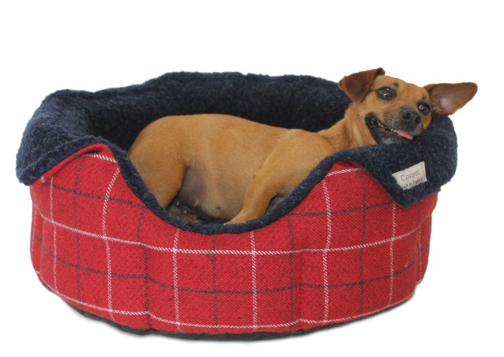 high sided luxury tweed slumbernest dog beds ebay. Black Bedroom Furniture Sets. Home Design Ideas