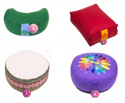 Meditation Bolsters and Cushions