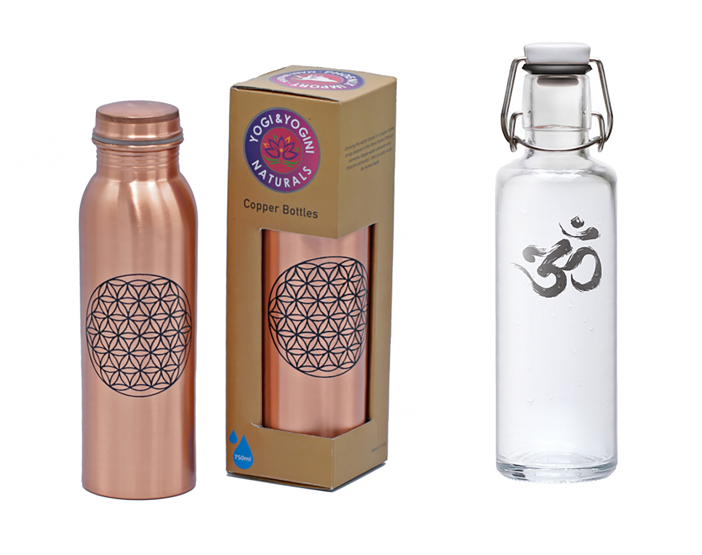 Yoga Water Bottles