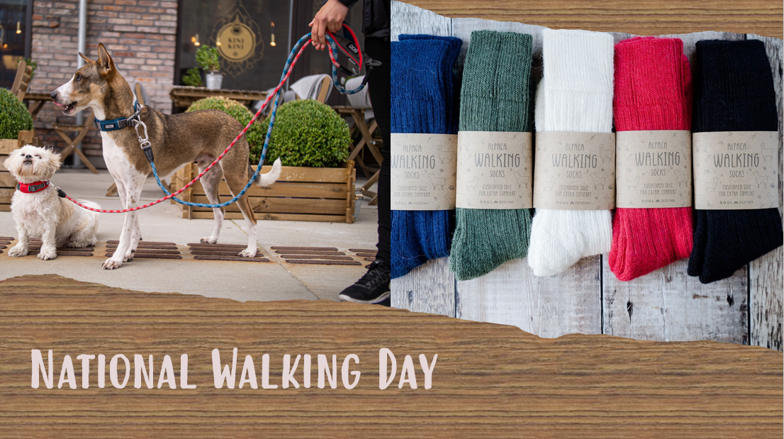 Out and about on National Walking Day?