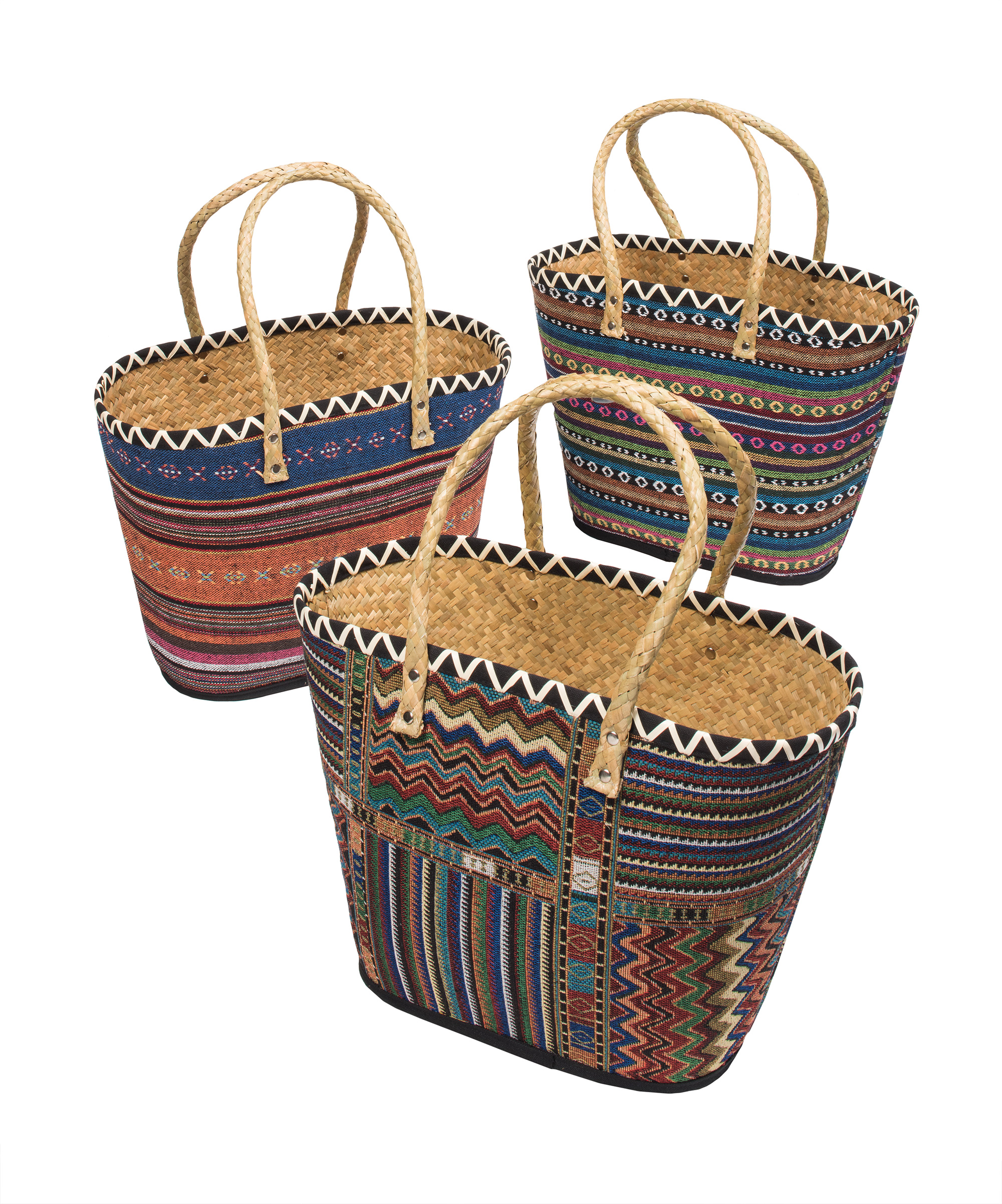 Gorgeous FairTrade Natural Woven Bags!
