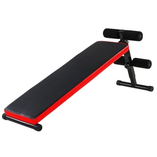 Abdominal Crunch Fitness Sit Up Workout Bench