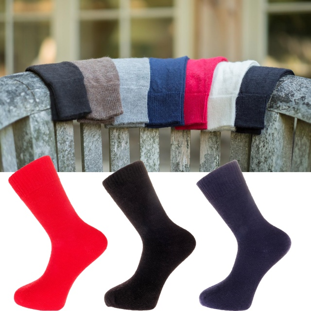 The Alpaca Every Day Socks Dyed Colours