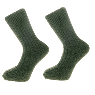 Green Alpaca walking socks Thick Socks 75% Alpaca wool. Walking, climbing,