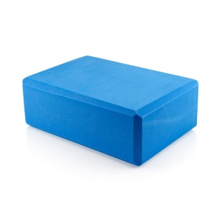 Yoga Block Pilates Foam Foaming Brick Stretch Health Fitness Exercise Gym BLUE