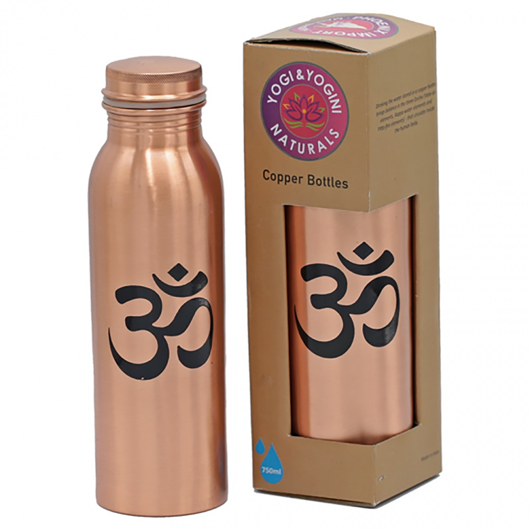 Copper Ohm Water Drinking Bottle. Top Quality  Size 750ml