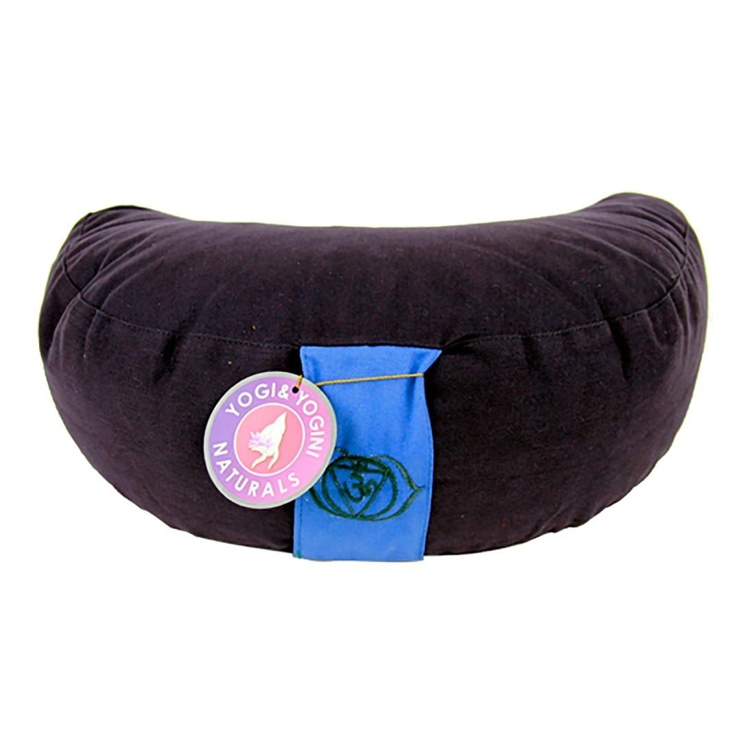 Crescent Moon Indigo Chakra Meditation Cushion Dimensions 33cm 13 Cm