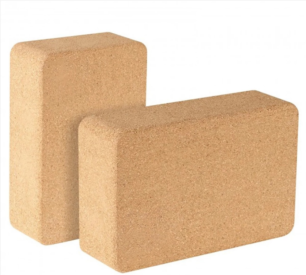 Eco Friendly Cork Yoga Block ( 1 x Yoga Block SIze: 7.5cm x 15.0cm x 22.5cm)