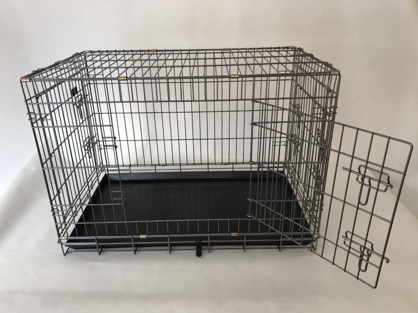 3 door Extra Strong Heavy Duty Dog  Cage with Large Door