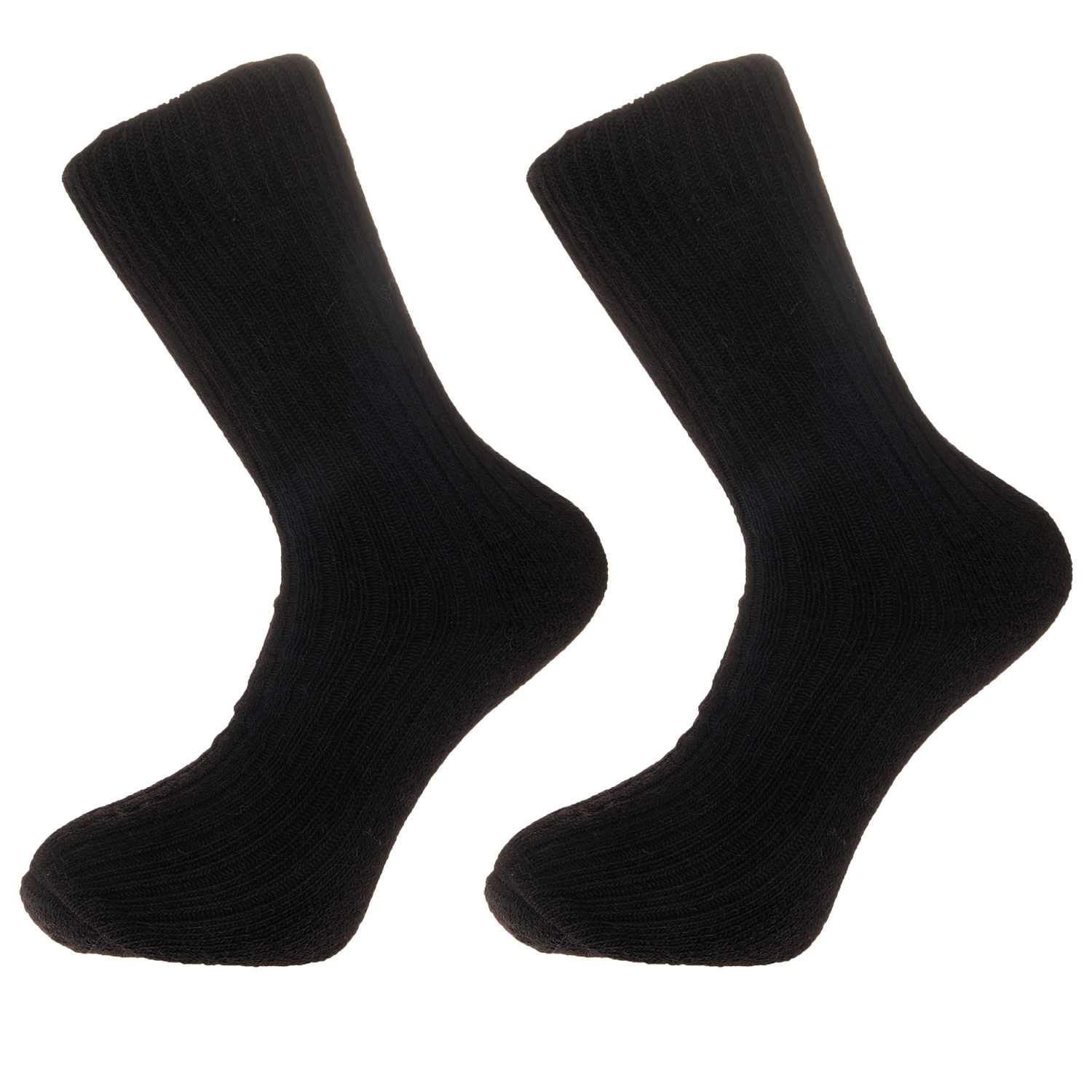 Jet Black Alpaca walking socks Thick Socks 75% Alpaca wool. Walking, climbing, hiking