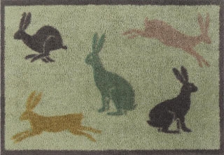 Hares Turtle Mat The Doormat To Keep The Dirt Out