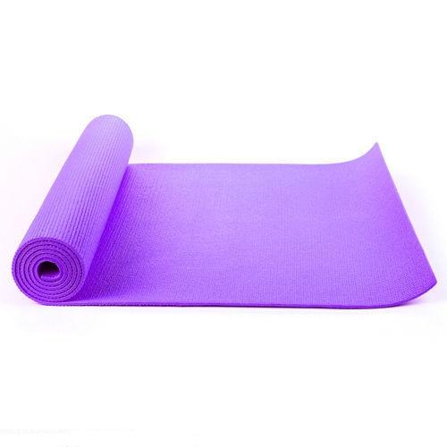 Purple Yoga Mat 6mm Thick 183cm X 61cm Free Bag