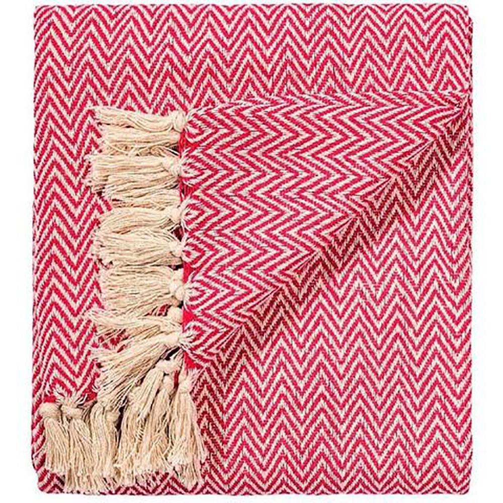 Chevron Soft Cotton Handloom Throw A Fair Trade Blanket