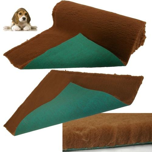 Traditional Brown Vet Bedding ROLL WHELPING FLEECE DOG PUPPY PRO BED