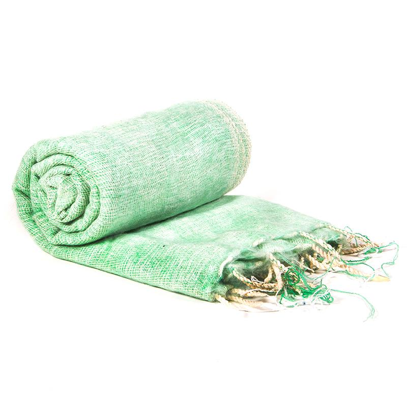 Meditation Pashmina Shawl Mint Green 200cm x80cm