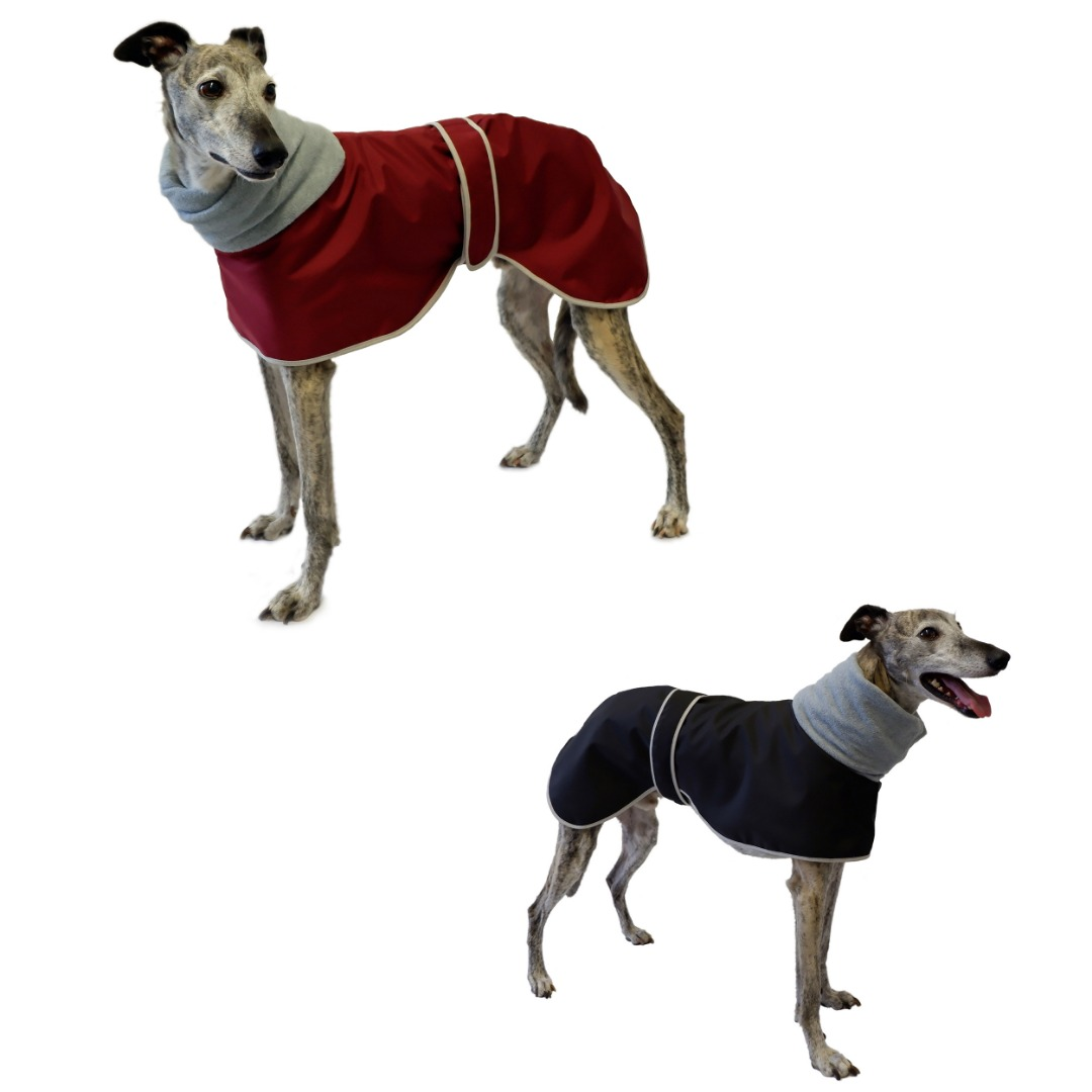 Greyhound Polo Waterproof Dog Coat Thermal Fleece