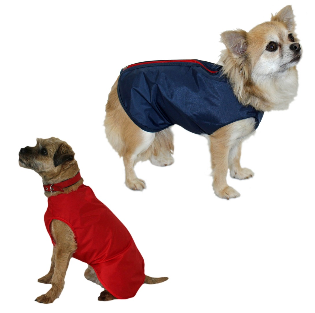 Waterproof Nylon Step-in Suit  water Proof Dog Coat.
