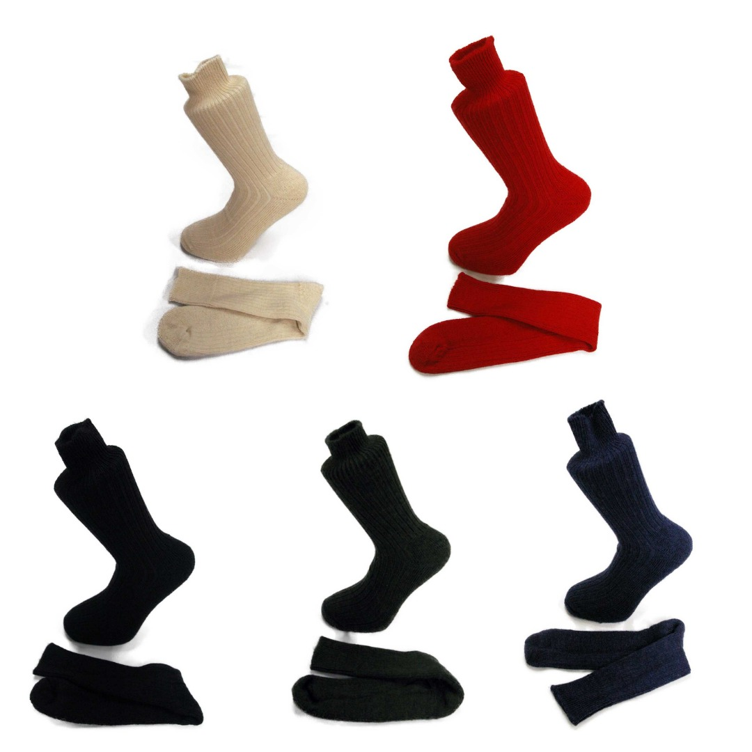 5 pairs of Alpaca Walking Socks, Cushioned Sole, 75% Alpaca Wool. Alpaca Sock<br><br>Gift Idea G