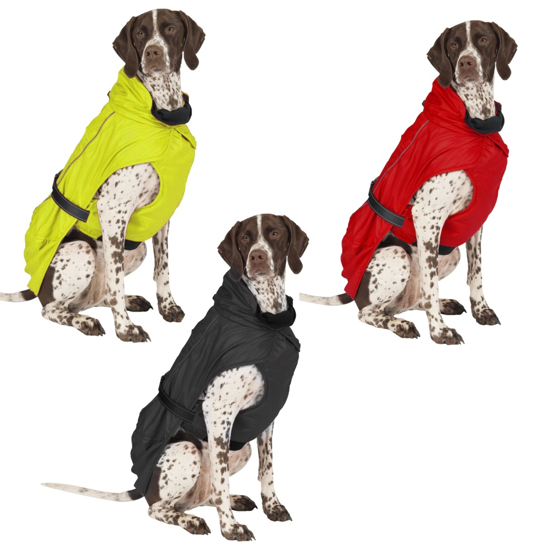 Extreme Blizard Dog Coat HI-VIS Wet & Cold weather