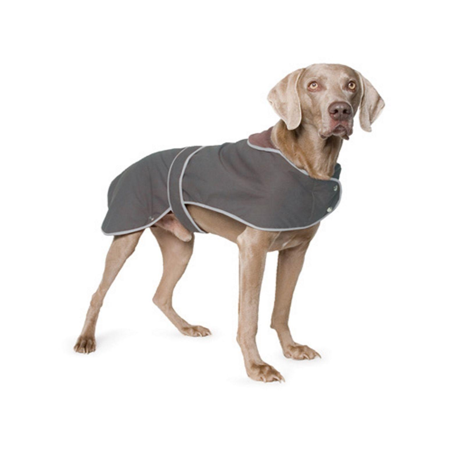 Ancol TIMBER WOLF WAX  Waterproof blanket Lined Dog Coat New