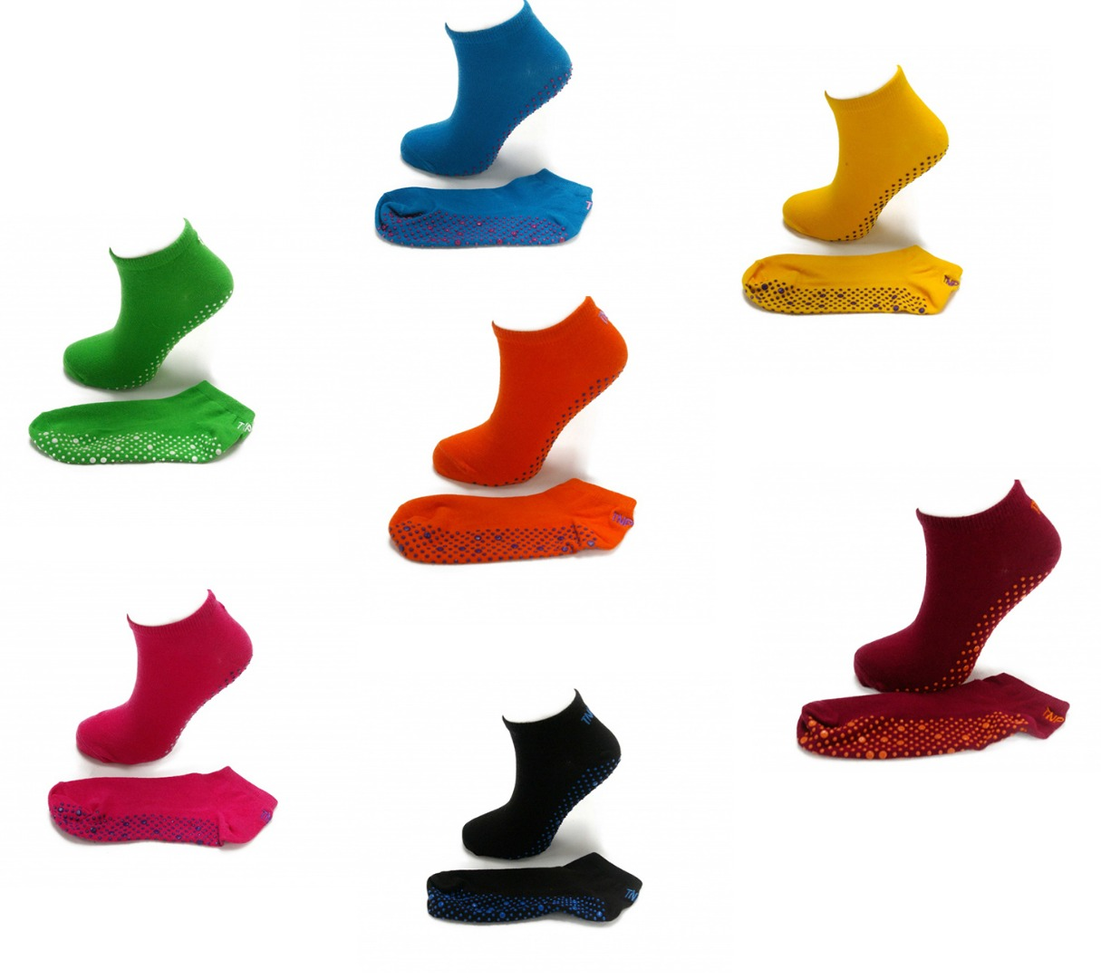 Pilates Yoga, Fitness, Dance Gym. Anti-slip / Non-slip, Massage Grip Socks