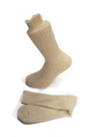 Cream natural  Alpaca walking socks Thick Socks 75% Alpaca wool. Walking, climbing, hiking