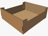 Disposable whelping boxes.  SIZE LARGE  120 x 110 x 40cm