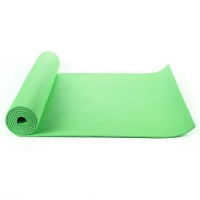 Green yoga mat, Exercise Fitness, Physio Pilates 6mm PVC 183CM X 61CM