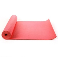 Red yoga mat, Exercise Fitness, Physio Pilates 6mm PVC 183CM X 61CM