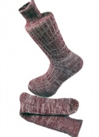 Combed Cotton Fleck Design Sock  Port