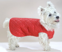 Showerproof All-in-one Quilted Step-in Suit Dog Coat