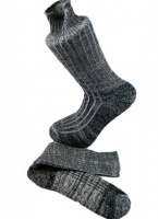 Combed Cotton Fleck Design Sock  Slate Grey