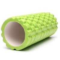 Green Yoga Foam EVA Roller Exercise Trigger Point GYM Pilates Texture Physio MASSAGE