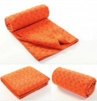 Orange Yoga Towel