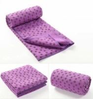 Purple Yoga Towel