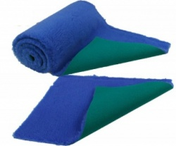 Traditional Royal Blue Vet Bedding ROLL WHELPING FLEECE DOG PUPPY PRO BED